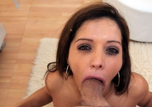 Some people see a MILF as gorgeous as Francesca Le and they just want to stare at her beauty. When I see a gorgeous older woman like Francesca, I think of how much more beautiful she would be with a huge weenie in her mouth. Francesca Le loves to get smutty