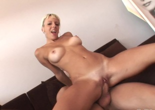 Angy Pink's wet and wild pussy gets slammed in a hard bang scene