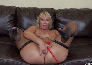 Fat milf arse makes the big black dick stud so horny