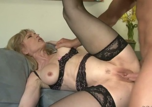 Nina Hartley had her bawdy cleft ploughed many times but wants some more