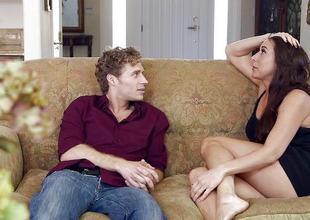 Wicked girl Kaylynn seduces her horny housemate