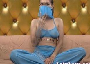 Lelu Love-Sneaky Female Genie Grants Naughty Wishes