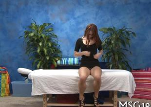 hardcore session for the redhead slut on a cock