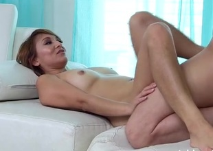 Well clothed amateur fucked in casting porn