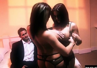 Austin Kincaid is a hot brunette who is such a slut that she